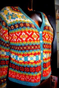 Fair isle in Amsterdam - one man crochet