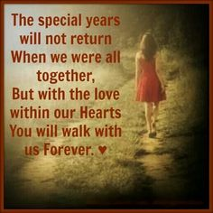 Only 5 years on earth, but we'll be together forever in heaven!