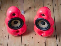 Fluo pink custom minipod speaker