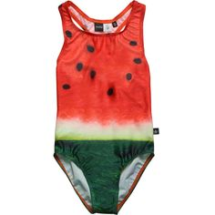 Molo Kids Nika Watermelon Slice Swimsuit   Scandinavian Minimall