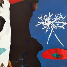 "James Brooks (1906-1992), ""Gudrun"", oil on canvas, 1971, 72"" x 72"""