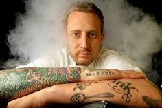 Michael Voltaggio, sexiest chef so he totally fits the category