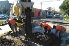 La Municipalidad de Escobar continúa con las tareas de bacheo