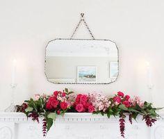 ♧∞ Antique Mirror #Vintage Mirror #Pie Crust edge mirror frameless mirror F... Great http://etsy.me/2wvxij2