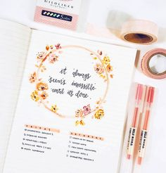 "1,387 Likes, 15 Comments - Brian Qian (bullet journal) (@studywithinspo) on Instagram: ""throwback: this was probably my favorite spread I ever made // Currently my favorite things…"""