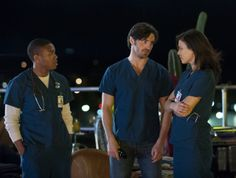For these three, when the sun goes down the intensity rises. | #NightShift