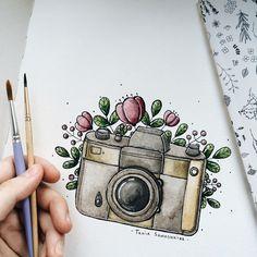 #camara mis dos amores combinados la FOTOGRAFIA y el ARTE