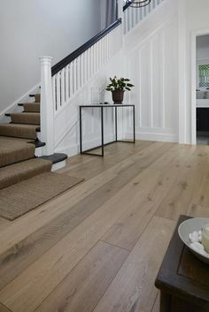 flooring porcelanato Timber Flooring in Sunshine Coast and Maroochydore - Impact Floors Karndean Flooring, Engineered Oak Flooring, Wooden Flooring, Farmhouse Flooring, Vinyl Plank Flooring, White Oak Laminate Flooring, Parkay Flooring, Wooden Floors Living Room, Sunshine Coast
