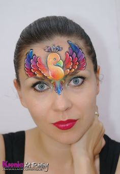 Ksenia Art Painting || rainbow bird, Ksenia's paintings are all beautiful! She is a rising star!!