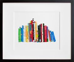 perfect art for a child's room | Ideal Bookshelf 5, TRE