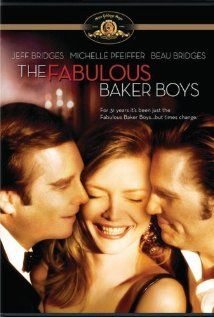 The Fabulous Baker Boys (1989) Jeff Bridges before he turned into 'hermit guy' and his brother Beau are professional musicians who decide to hire a female singer (Michelle Pfeiffer) so they can get better gigs..  really good