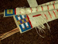 Shoshone Beadwork | INDIAN ARTIFACTS AND ART OF THE CHEYENNE TRIBE - #GeorgeTupak