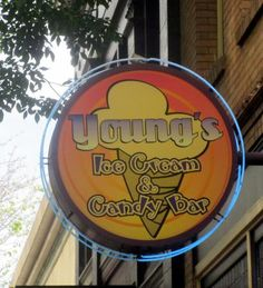 Young's, Ice Cream and Candy - on Broadway in Redwood City, Ca
