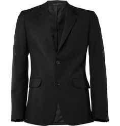 Alexander McQueenSlim-Fit Wool-Blend Suit Jacket|MR PORTER