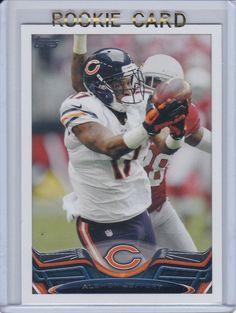 2013 Topps NFL Chicago Bears/Philly Eagles Alshon Jeffery Football Rookie Card  #ChicagoBears