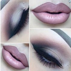 New Makeup Dark Eyeshadow Melt Cosmetics 39 Ideas Gorgeous Makeup, Pretty Makeup, Love Makeup, Makeup Inspo, Dark Makeup, Smokey Eye Makeup, Skin Makeup, Makeup Goals, Makeup Tips