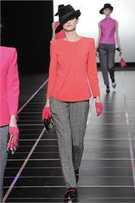 Fall Winter 2012-13 Giorgio Armani, Milan - click on the photo to see the complete collection and review on Vogue.it