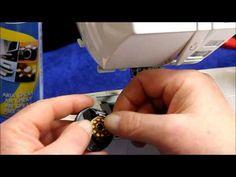 ▶ Manutenzione della macchina da cucire, pulizia del crochet rotativo e regolazione della tensione - YouTube