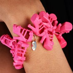 Gladiator Doll Shoe Bracelet, $35, now featured on Fab.