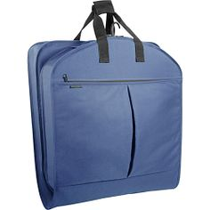 "Wally Bags 40"" Suit Bag w/ Two Pockets - Navy from Yvonne's #shoes"