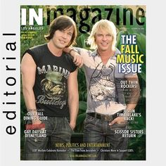 Jacob and Joshua: Nemesis Rising is a reality television program originating on the LGBT network Logo. It follows identical twin brothers Jacob and Joshua Miller, who together comprise the pop duo Nemesis, as they seek success in the music business as openly gay artists. The series premiered on October 16, 2006.