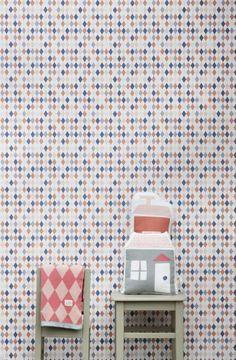 Ferm Living Shop — Happy Harlequin Wallpaper