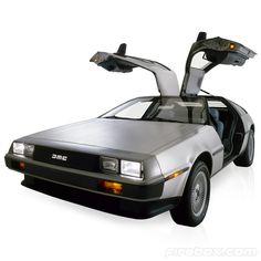 Electric DeLorean #Tip #TipOrSkip #geek #cars