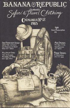 Early Banana Republic catalogue from 1983