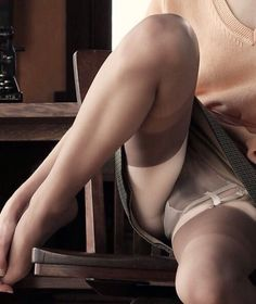 "whendusksettles: He was very specific when I asked what part of the body he liked. ""Inner thigh, above stocking top."""