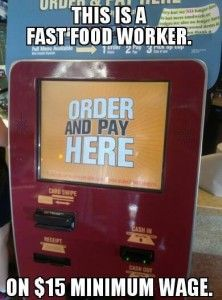 Minimum Wage-you get paid for the type of work you perform. Keep asking for more money to pull a burger out of a microwave, and you can be easily replaced Fast Food Workers, Minimum Wage, Ron Paul, Conservative Politics, Stupid Stuff, Funny Sayings, Mcdonalds, Economics, Laughing