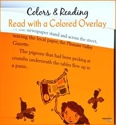Color in Learning: Use colored overlays when reading esp. for kids who have dyslexia. #ad @astrobrights