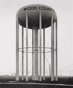 Water Tower, Toledo, Ohio. photo by Bernd & Hilla Becher, 1974