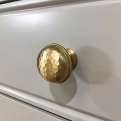 "89 Likes, 3 Comments - Schaub & Co Cabinet Hardware (@schaub_and_company) on Instagram: ""Hammered brass knobs make a big impact on this butler's pantry from @webbercolemanwoodworks."""