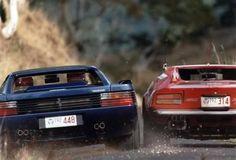 DeTomaso Pantera & Ferrari Testarossa