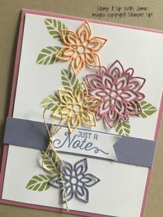Flourish Thinlits - Stamp It Up With Jaimie - Stampin Up