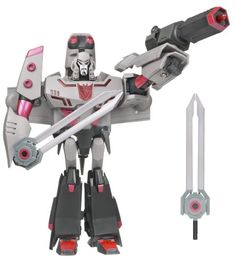 One shall fall Megatron neuf Transformers Platinum Edition One Shall Stand