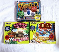Texas Hold 'em, Phlinx Puzzle Game & Blingo - Game show