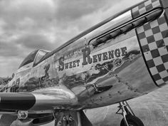P-51 on display at 2011 Air Guard air show in Bloomington, MN.  Photo by Andy Charrier.