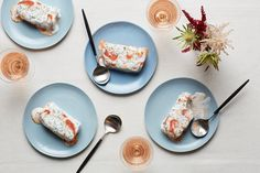 "The Italian dessert Semifreddo means ""semi-frozen."" It doesn't require an ice cream maker yet is equally cool, creamy, and satisfying."