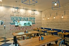 Fast / Casual (UK): Kerbisher and Malt (Ealing, London) by Alexander Waterworth Interiors