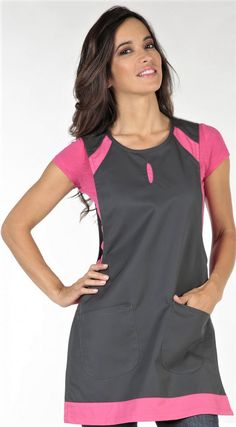 Spa Uniform, Apron Designs, Aprons, Jumper, Athletic Tank Tops, Clothes For Women, Sewing, Housekeeping, Patterns