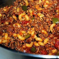 Italian Style Goulash Recipe from Grandmothers Kitchen italian dishes recipes Goulash Recipes, Meat Recipes, Pasta Recipes, Crockpot Recipes, Cooking Recipes, Recipies, Yummy Recipes, Bison Recipes, Cooking Courses