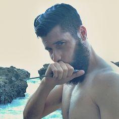 ⚒ VILLAIN KNOX ⚒  Photo by @bella_mendezz Beard care @maestrosclassic Grooming @gqfromgqcuts  DEEP SEAS EDITORIAL.  In resemblance of the BEARDED VILLAINS Brotherhood
