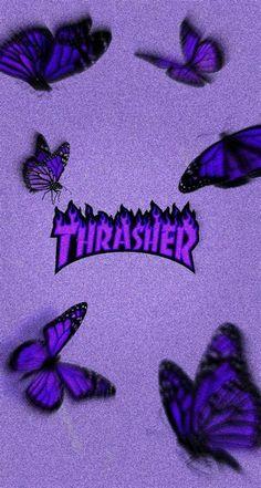 Thrasher | Iphone Wallpaper Girly, Butterfly Wallpaper