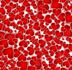 Banner, Hearts, Background, Texture
