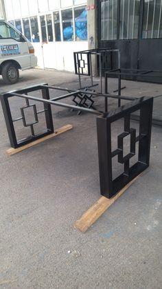 HEF makina metal demir doğrama ferforje.dekoratif masa ayakları tasarım ve imalat