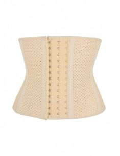 18ca6929e7 Nude 9 Steel Bone Rubber Queen Size Waist Girdle 3 Rows Hooks Flatten Tummy Queen  Size