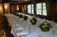 The Inn at Weathersfield dining room - can't you just imagine your wedding reception here? #vermontweddings