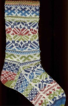 Ravelry: Latvian Wedding Socks pattern by Robyn Gallimore Fair Isle Knitting, Knitting Socks, Hand Knitting, Knitting Patterns, Crochet Patterns, Wedding Socks, Aran Weight Yarn, Knit Stockings, Stocking Pattern