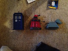 Dr. Who ornaments!